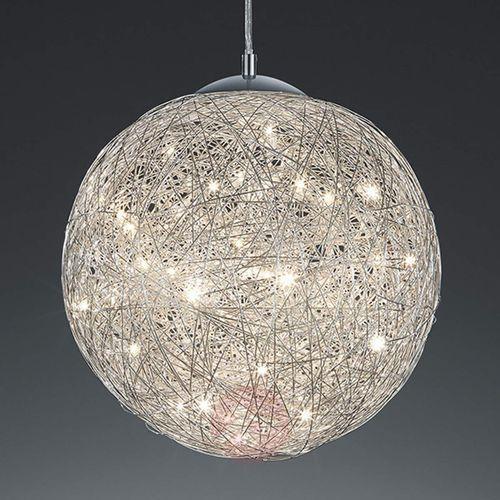 Thunder - zachwycająca lampa wisząca LED Ø 40 cm