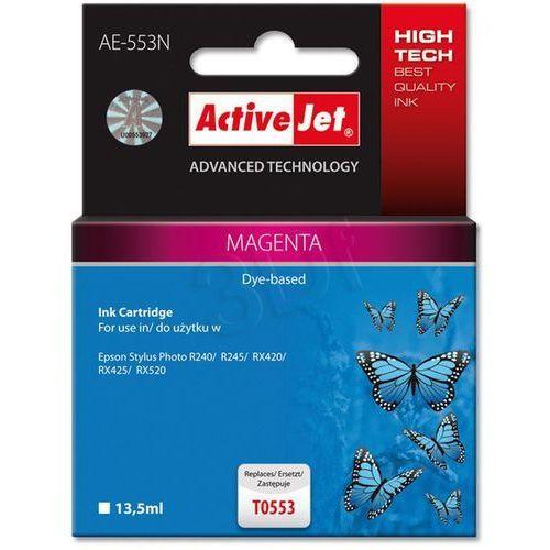 Activejet Tusz  ae-553n (ae-553) magenta do drukarki epson - zamiennik epson t0553 (5904356284006)