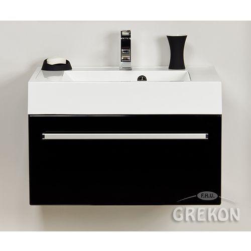 Szafka wisząca z umywalką 70/50 ufks seria fokus c marki Gante