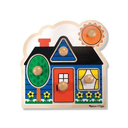 Puzzle MELISSA & DOUG Pierwszy domek 12053