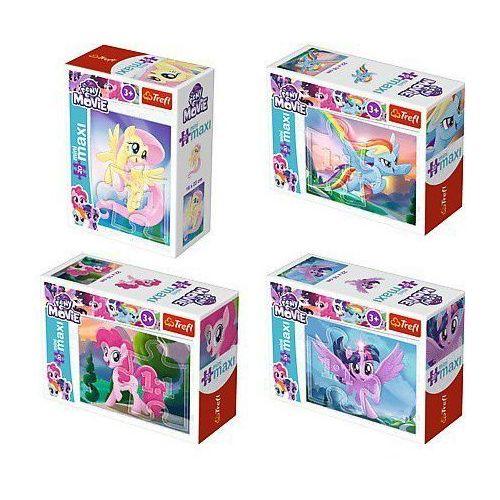 Trefl 20 elementów mini maxi, my little pony magia kucyków/24 sztuki (5900511560077)