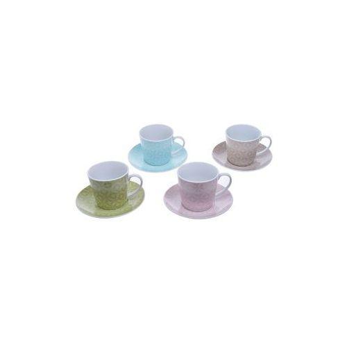 Ewax Komplet 4 x kolorowe filiżanki 200 ml (5901638324993)