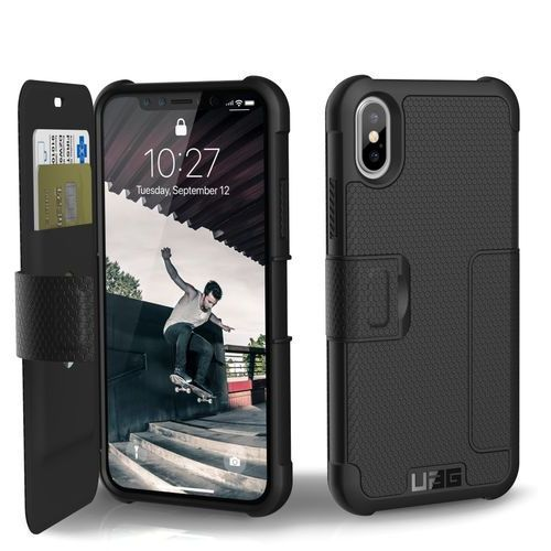 Uag Etui metropolis z klapką do iphone x