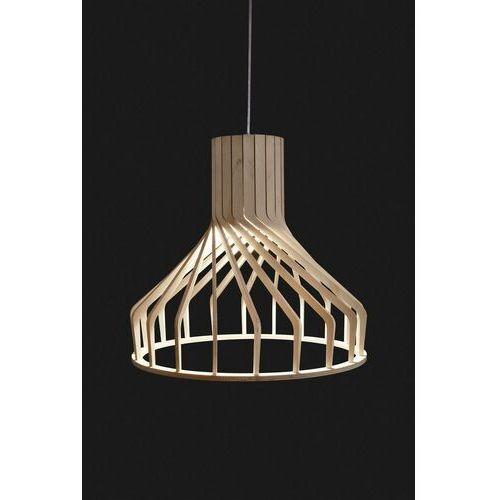 Lampa wisząca sklejka BIO 38cm GU10 - Drewno (5903139633390)