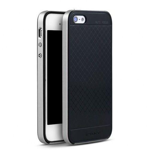 Etui iPaky Premium Hybrid Apple iPhone 5s/SE Silver + Szkło