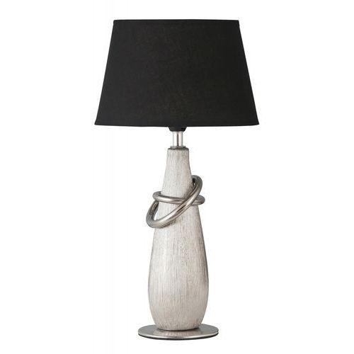 Lampa lampka stołowa Rabalux Evelyn 1x40W E14 chrom/czarny 4372, 4372