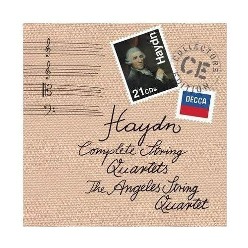 Universal music Haydn:complete string quartets (collectors edition) - angeles string quartet (płyta cd) (0028947836957)