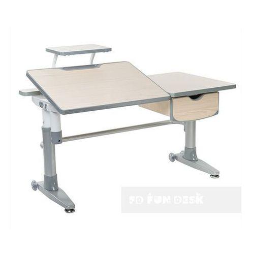 Fundesk Ballare grey - ergonomiczne, regulowane biurko dziecięce - złap rabat: kod50