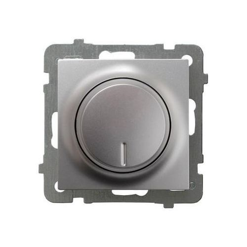 Ściemniacz uniwersalny Ospel AS ŁP-8GL2/m/18 do LED, obciążenia żarowego i halogenowego srebro, ŁP-8GL2/m/18