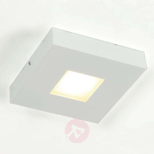 Wysokiej jakości lampa sufitowa led cubus, biała marki Bopp