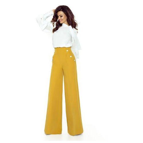 Szerokie spodnie z wysoką talią, w 4 rozmiarach