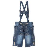 """Bonprix Bermudy dżinsowe w ludowym stylu regular fit niebieski """"stone"""