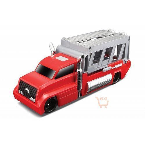 burnin' key cars ciężarówka + autko street speeder marki Maisto