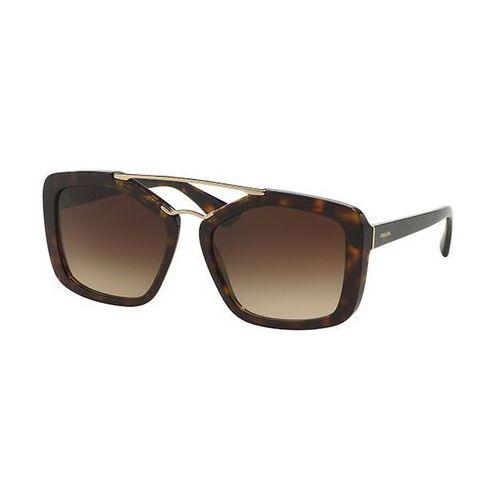 Okulary Słoneczne Prada PR24RSF CINEMA Asian Fit 2AU3D0, kolor żółty