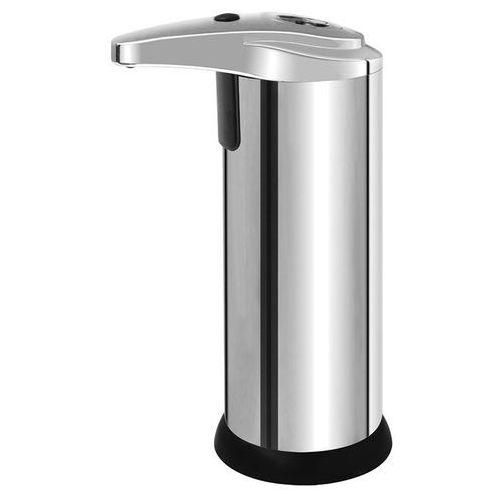 Dozownik do mydła w płynie automatyczny wolnostojący plastik chrom marki Bisk