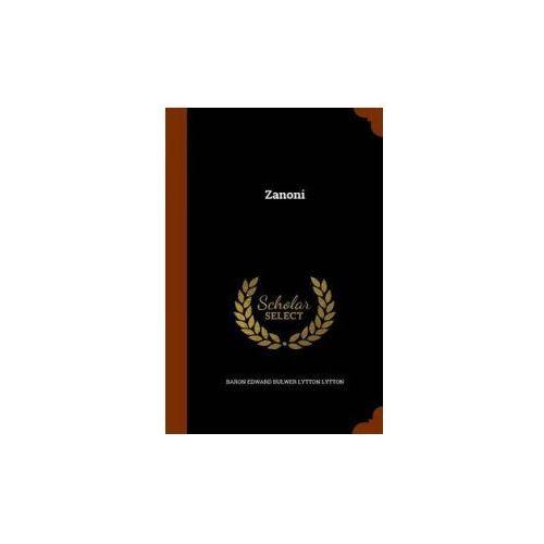 Kniha Zanoni (9781345409147)