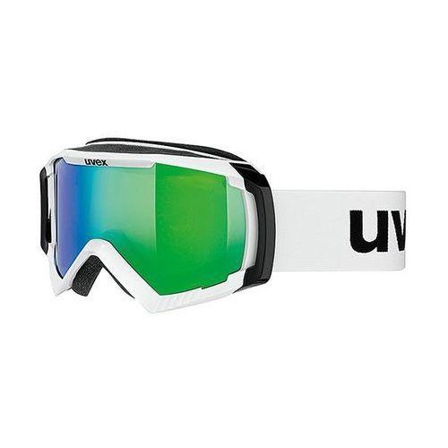 Gogle apache ii ltm białe zielone marki Uvex
