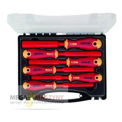 FELO Zestaw wkrętaków nasadowych FL41910636 z kategorii Zestawy narzędzi ręcznych