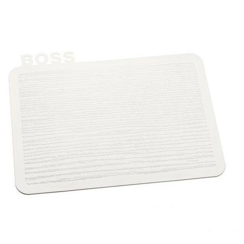 Koziol Deska kuchenna śniadaniowa happy boards boss biała