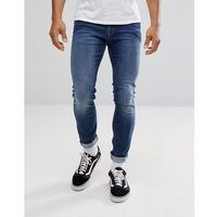 Tommy jeans steve slim tapered jeans in light wash - blue