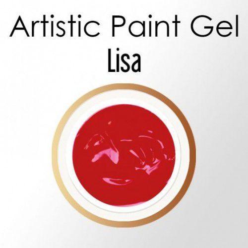 Nc nails company Nails company artistic paint gel pasta 5g - lisa (ciemna czerwień)
