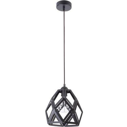 Lampa wisząca tao m 31726 geometryczna oprawa loftowy zwis czarny marki Sigma