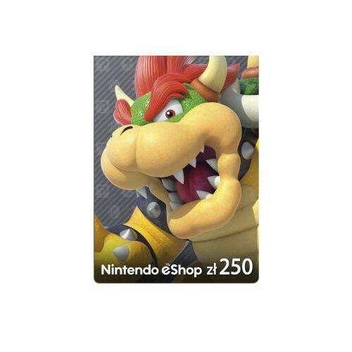 Nintendo Kod podarunkowy 250zł