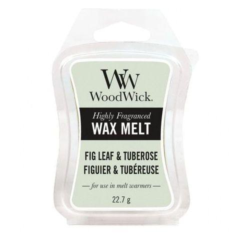 Woodwick - wosk zapachowy fig leaf & tuberose 10h