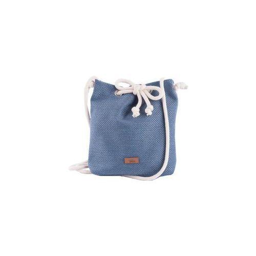 Torba small basic z tkaniny niebieska marki Me&bags