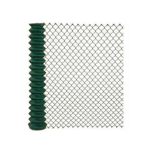 Arcelor mittal Siatka ogrodzeniowa pleciona 1.5 x 10 m zielona soc pvc