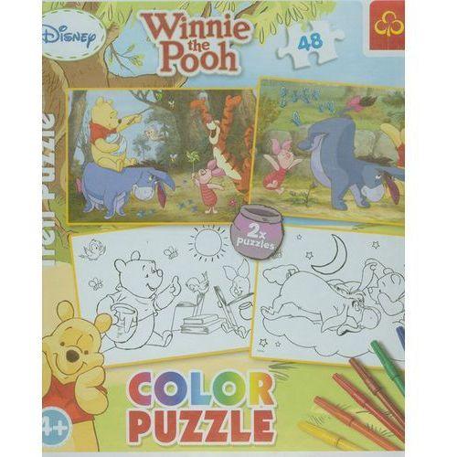 Kubuś puchatek color puzzle marki Trefl