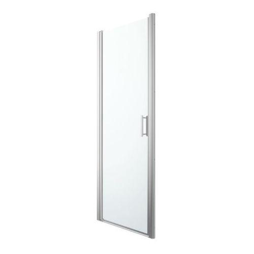 Drzwi prysznicowe uchylne beloya 80 cm chrom/transparentne marki Goodhome