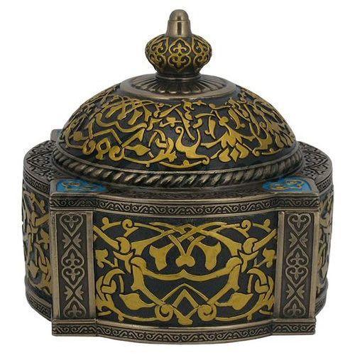 Veronese Kopułkowa szkatułka w stylu arabskim (wu76527a4)