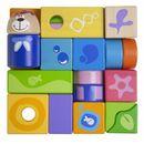 Chicco: Zabawki drewniane- Zestaw 23 klocków