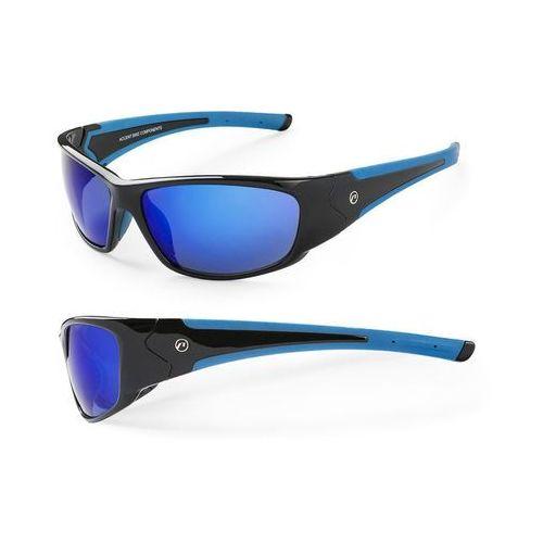 Accent 610-40-83_acc okulary freak czarno-niebieskie