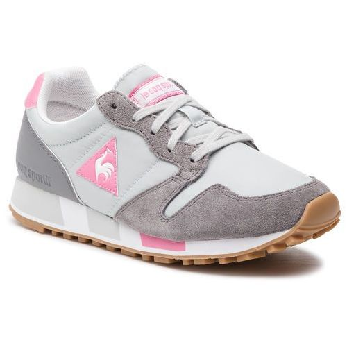 Sneakersy LE COQ SPORTIF - Omega W Sport 1910563 Galet/Pink Carnation