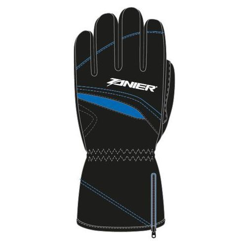 Rękawice narciarskie Rauris.GTX Jr. Czarny/Niebieski XL
