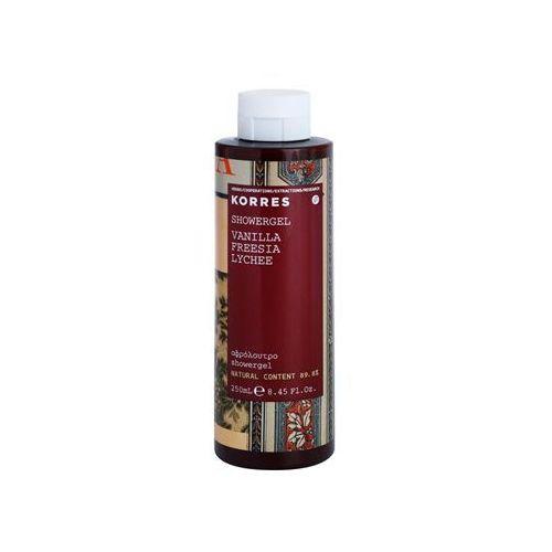 Korres Vanilla (Freesia/Lychee) 250 ml żel pod prysznic