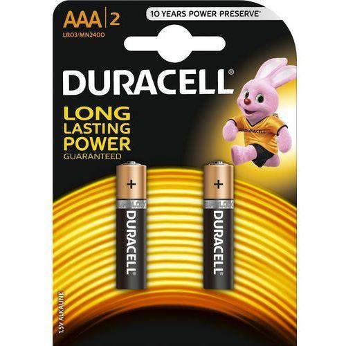 Bateria DURACELL Basic LR03/AAA 2 szt.