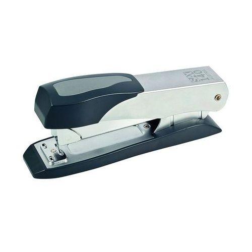 Zszywacz SAX140, zszywa do 45 kartek, front loader, srebrny