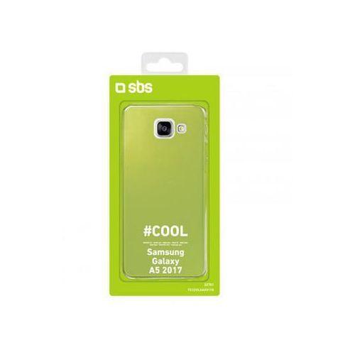 Etui do Samsung Galaxy A5 2017 zielone, kolor zielony