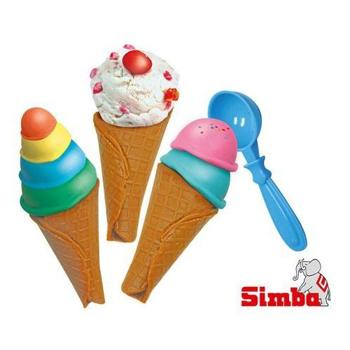 Masa plastyczna - lody w rożku A&F Simba (106325419) (4006592654191)