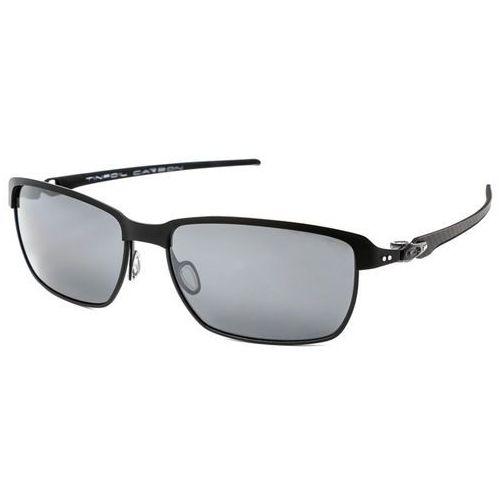 Okulary Słoneczne Oakley OO6018 TINFOIL CARBON Polarized 601802, kolor żółty