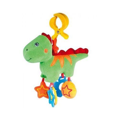 Canpol  babies pluszowa zabawka wibracyjna dino, zielona