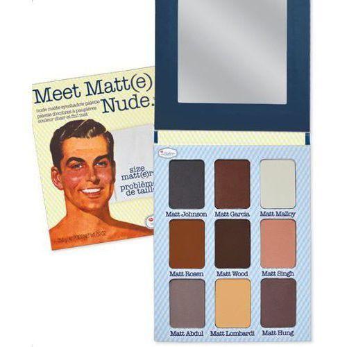 meet matt(e) - paleta cieni do powiek 25,5g marki Thebalm
