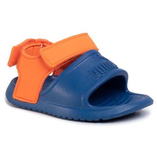 Sandały PUMA - Divecat V2 Injex Inf 369545 04 Bright Cobalt/Firecracker, kolor pomarańczowy