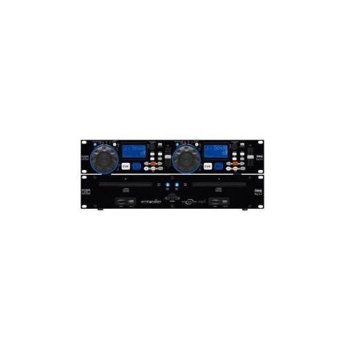 Cd-230usb podwójny odtwarzacz cd/mp3 wyprodukowany przez Img stage line
