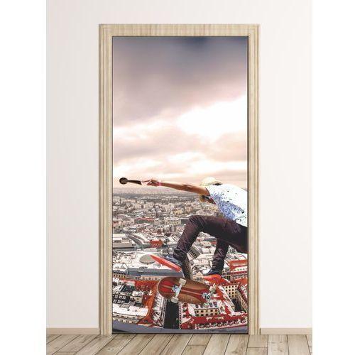 Fototapeta na drzwi dla dzieci skater fp 6012 marki Wally - piękno dekoracji