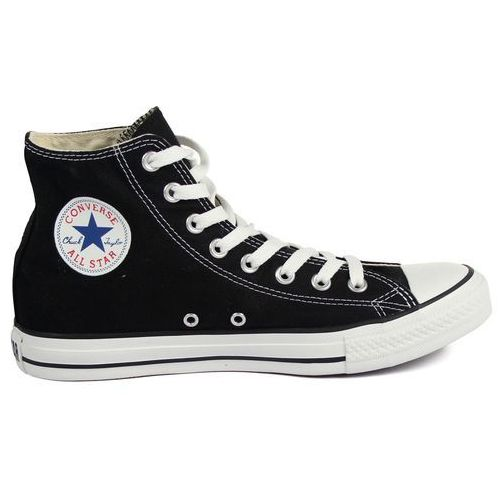 Converse unisex chuck taylor all star canvas hi-top trainers - black - uk 4
