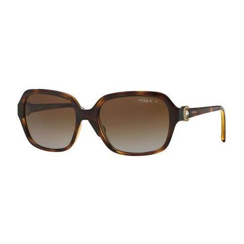 Okulary słoneczne vo2994sb circled c polarized w656t5 marki Vogue eyewear
